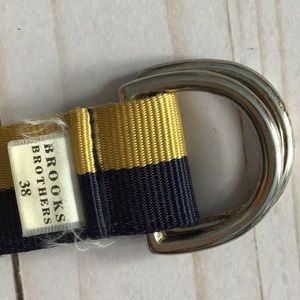 Brooks Brothers Accessories - Brooks Brothers D- Ring Ribbon Belt